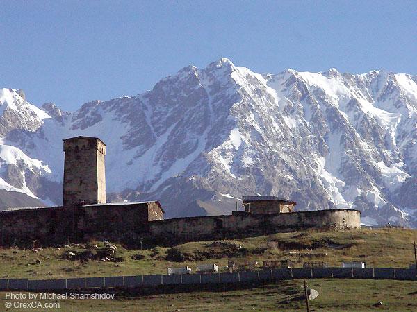 The Ushguli villages