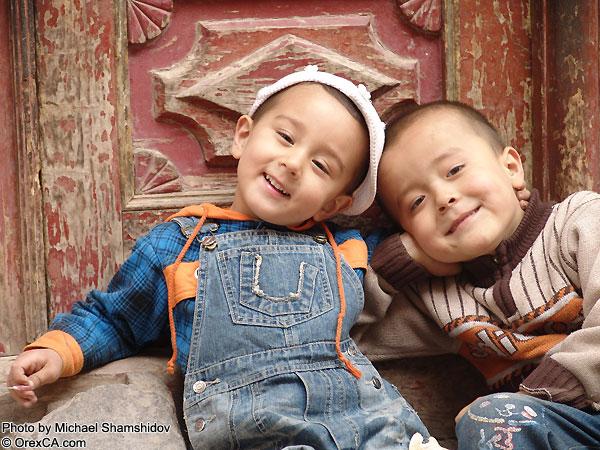 Uighur children