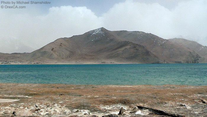 Xinjang travel. Karakuli Lake
