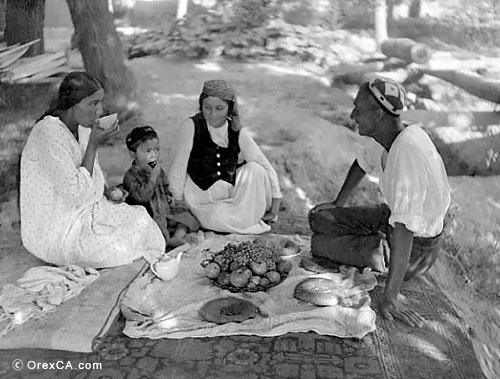 Family tea-party