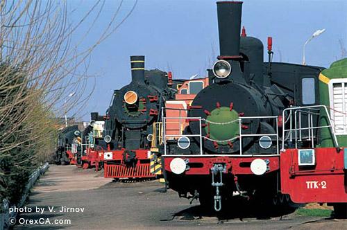 Музей железнодорожной технки ташкент