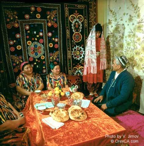 Традиции и обычаи Узбекистана: Узбекская национальная одежда.