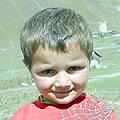 Ushguli boy