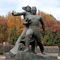 Pictures of Tashkent. Monument of Courage