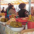 Parkentsky bazaar in Tashkent
