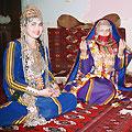 Turkmen girls and bride