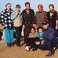 Tourists in Turkmenistan