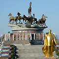 Monument dedicated to Turkmen Horses