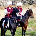 Туркменские джигиты