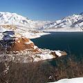 Чарвакское водохранилище. Зима в Узбекистане