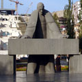 Pictures of Yerevan. Statue of Tamaniyan