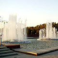 Tashkent pictures. Mustakillik (Independence) Square