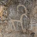 Чарвак. Наскальные рисунки - петроглифы