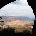 View for ther cave — Чарвакские горы. Вид из пещеры
