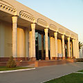 Tashkent pictures.  Exhibition Hall of the Union of Artists of Uzbekistan