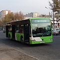 Tashkent pictures. New city bus