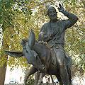 Памятник Ходже Насриддину, Бухара