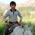Uzbekistan children — Пастушок из Абая