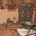 Yurt decoration  — Убранство юрты