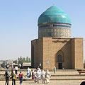 Pilgrims in Turkestan  — Паломники в Туркестане