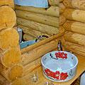 """Bath-room — Гостиная в коттедже горного курорта """"Небеса"""""""