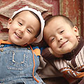 Uighur children