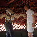 The Kazakh yurt