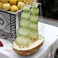 Melon ship — Кораблик из дыни
