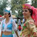 Девушки Узбекистана