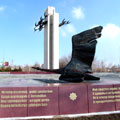 "Shadoof monument — Монумент ""Журавли"" - памяти погибшим воинам Shadoof monument - in memory of deceased soldiers"