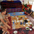 В  гостевом доме Рахманкула-хаджи