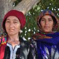 Turkmen women