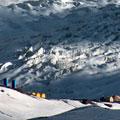 Alpine camp — Альпинистский лагерь