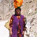 Женщина из горного кишлака