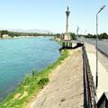 Syrdarya River in Khujand — Река Сырдарья  в Худжанде
