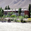 Panj River in Khorog — Река Пяндж в Хороге