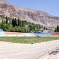The stadium in Khorog — Стадион в Хороге