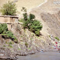 Panj River in Afghanistan — Река Пяндж в Афганистане