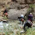 Horseback riding through the gorges — Конная прогулка по ущельям