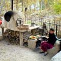 Kitchen in Peshagare — Кухня в Пешагаре