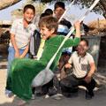 Swing  — a favorite pastime of children around the world! Качели - любимая забава детей всего мира!
