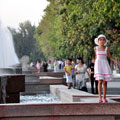 Dushanbe fountains