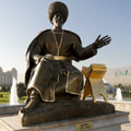 National Park of Independence in Ashgabat