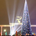 Новогодняя ёлка на площади Мустакиллик