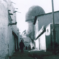 The street of Samarkand  with view to the Gur-Emir Mausoleum — ������ ���������� � ������� � �������� ���-����