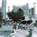 Sher-Dor Madrassah, Registan, Samarkand — Медресе Шер-Дор, Регистан, Самарканд