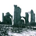 Samarkand, the ruins of the Bibi Khanum mosque