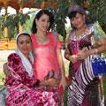 Beautiful Tajik women