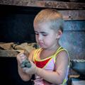 Young ceramist — Юный гончар