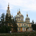 Almaty pictures. Zenkov Cathedral